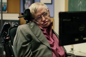 Stephen Hawking fot. Comic Relief/Youtube