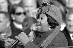 Aretha Franklin, fot. Cecilio Ricardo, U.S. Air Force, PD
